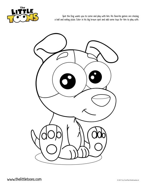 Download And Print The Coloring Pages Of Littletoons